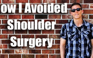 how to avoid shoulder surgery