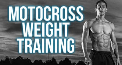 motocross weight training